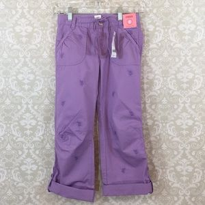 NWT Gymboree Girls 9 Lavender Pants